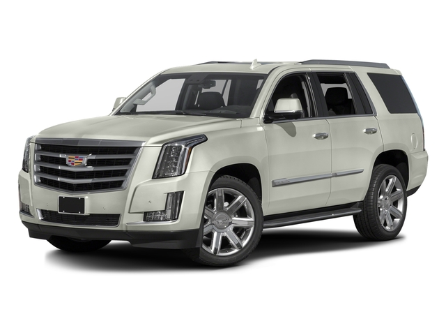 Crystal White Tricoat 2016 Cadillac Escalade Pictures Escalade Utility 4D 4WD V8 photos front view