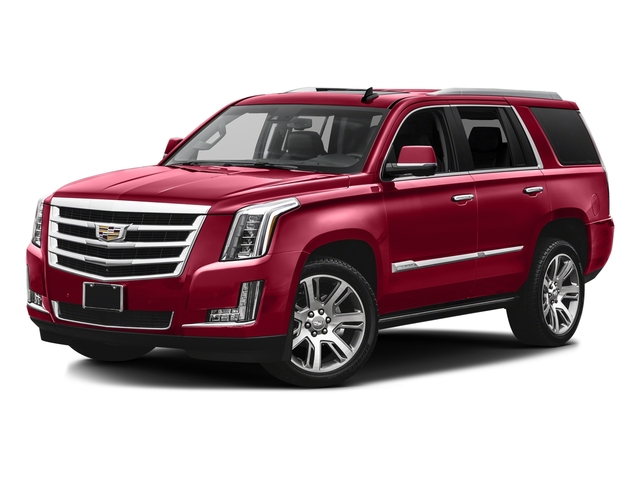 Red Passion Tintcoat 2016 Cadillac Escalade Pictures Escalade Utility 4D Premium 4WD V8 photos front view
