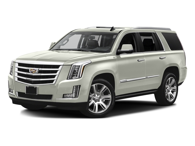 Crystal White Tricoat 2016 Cadillac Escalade Pictures Escalade Utility 4D Premium 4WD V8 photos front view