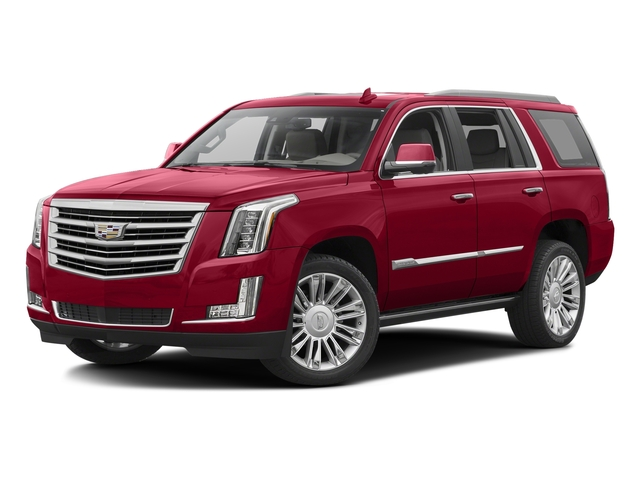 Red Passion Tintcoat 2016 Cadillac Escalade Pictures Escalade Utility 4D Platinum 4WD V8 photos front view