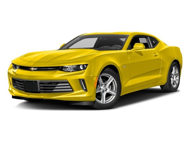 Bright Yellow 2016 Chevrolet Camaro Pictures Camaro Coupe 2D 2LT V6 photos front view