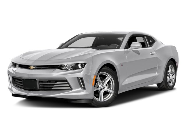 Silver Ice Metallic 2016 Chevrolet Camaro Pictures Camaro Coupe 2D 2LT V6 photos front view