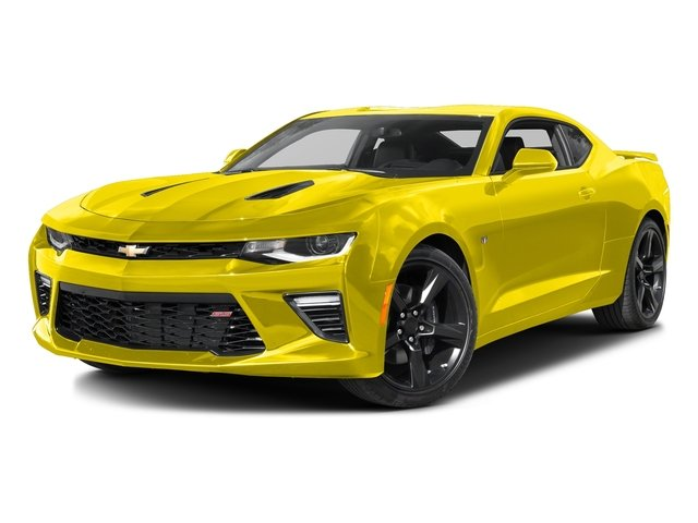 Bright Yellow 2016 Chevrolet Camaro Pictures Camaro Coupe 2D 2SS V8 photos front view