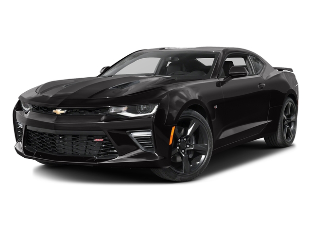 Black 2016 Chevrolet Camaro Pictures Camaro Coupe 2D 2SS V8 photos front view
