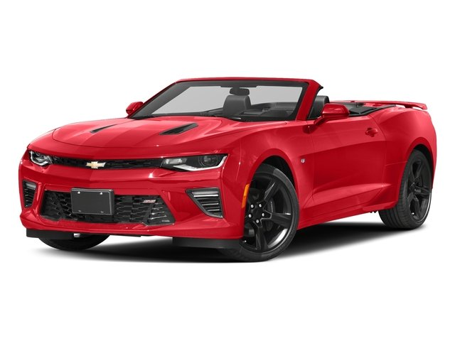 Red Hot 2016 Chevrolet Camaro Pictures Camaro Convertible 2D SS V8 photos front view