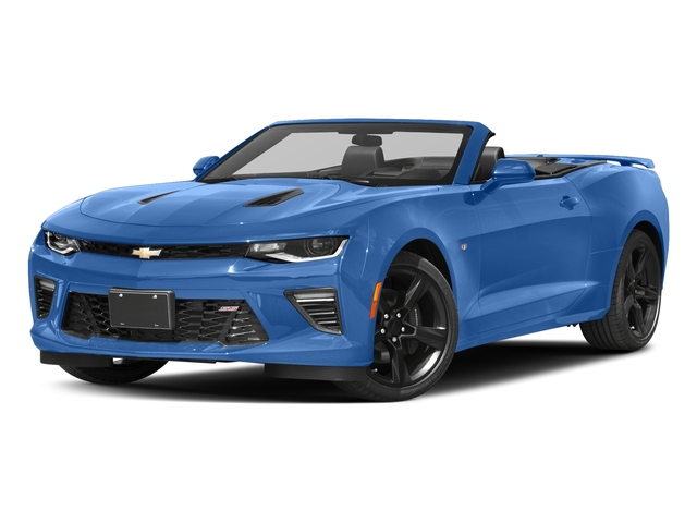 Hyper Blue Metallic 2016 Chevrolet Camaro Pictures Camaro Convertible 2D SS V8 photos front view
