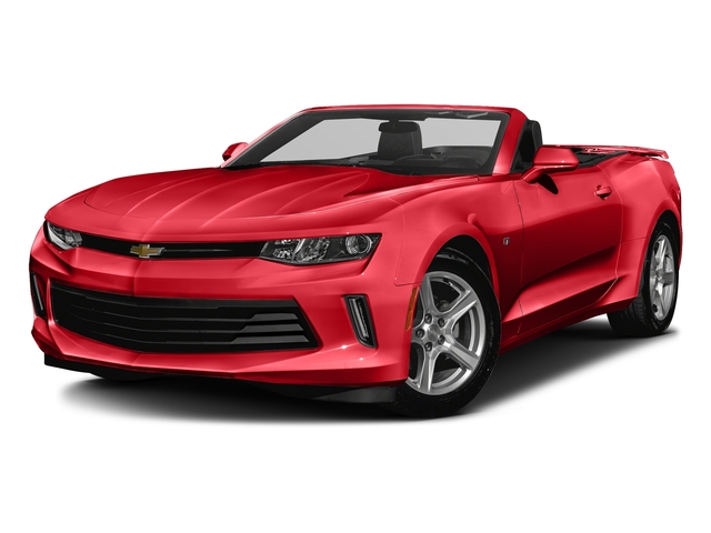 Red Hot 2016 Chevrolet Camaro Pictures Camaro Convertible 2D 2LT V6 photos front view