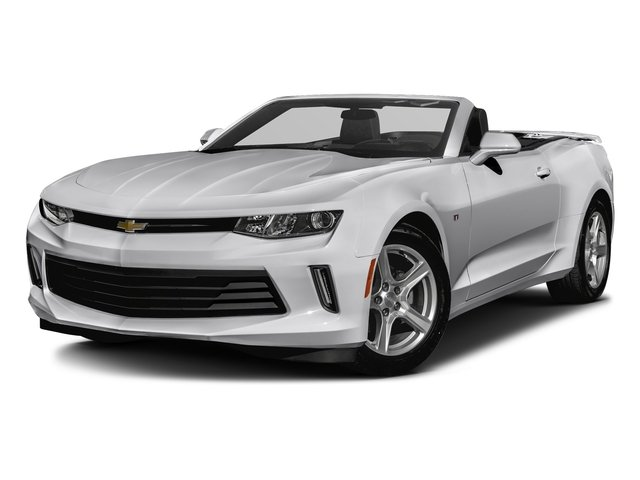 Silver Ice Metallic 2016 Chevrolet Camaro Pictures Camaro Convertible 2D 2LT V6 photos front view