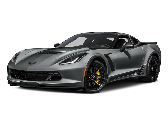 Shark Gray Metallic 2016 Chevrolet Corvette Pictures Corvette Coupe 2D Z06 2LZ V8 photos front view