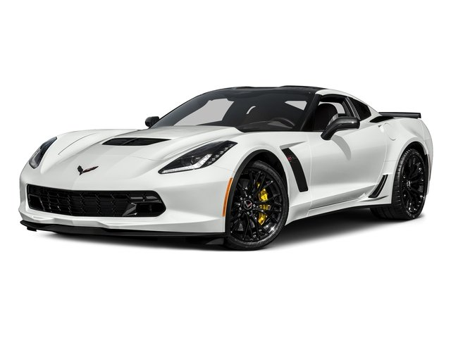 Arctic White 2016 Chevrolet Corvette Pictures Corvette Coupe 2D Z06 2LZ V8 photos front view