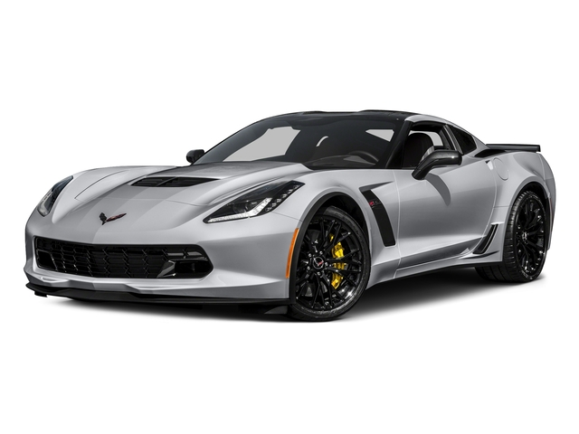 Blade Silver Metallic 2016 Chevrolet Corvette Pictures Corvette Coupe 2D Z06 2LZ V8 photos front view