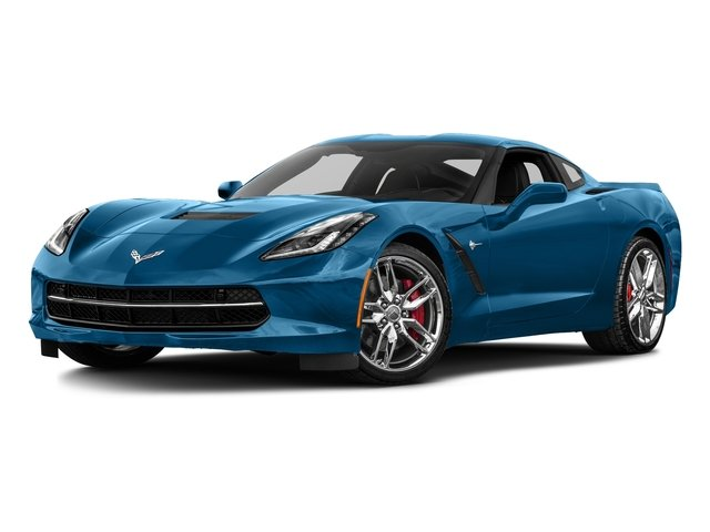 Laguna Blue Metallic Tintcoat 2016 Chevrolet Corvette Pictures Corvette Coupe 2D Z51 3LT V8 photos front view