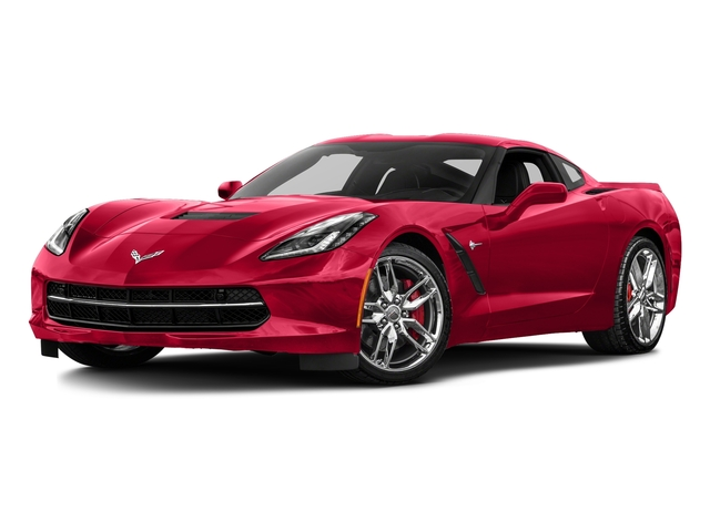Torch Red 2016 Chevrolet Corvette Pictures Corvette Coupe 2D Z51 3LT V8 photos front view