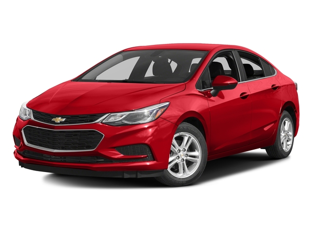 Red Hot 2016 Chevrolet Cruze Pictures Cruze Sedan 4D LT I4 Turbo photos front view