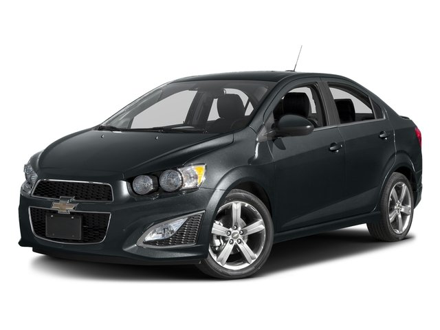 Nightfall Gray Metallic 2016 Chevrolet Sonic Pictures Sonic Sedan 4D RS I4 photos front view
