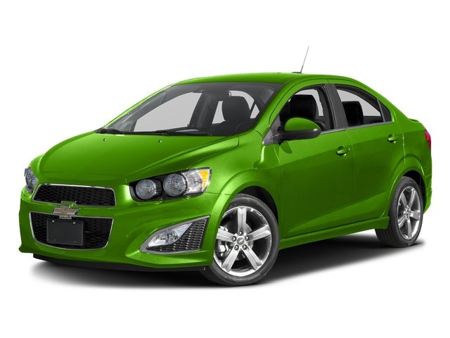 Dragon Green Metallic 2016 Chevrolet Sonic Pictures Sonic Sedan 4D RS I4 photos front view