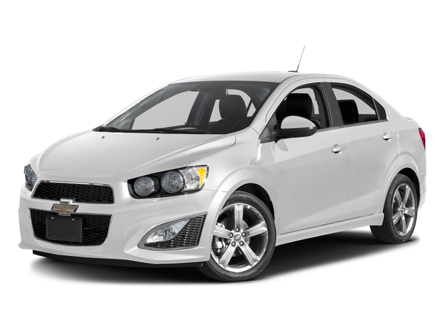 Summit White 2016 Chevrolet Sonic Pictures Sonic Sedan 4D RS I4 photos front view