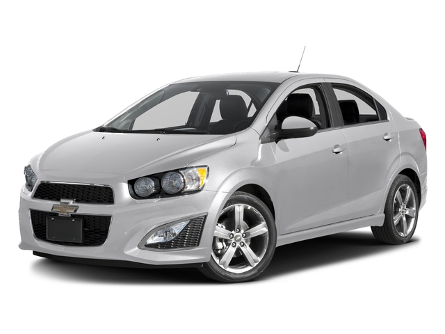 White Diamond Tricoat 2016 Chevrolet Sonic Pictures Sonic Sedan 4D RS I4 photos front view