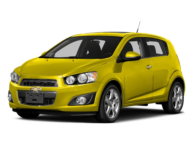 Bright Yellow 2016 Chevrolet Sonic Pictures Sonic Hatchback 5D LT I4 photos front view