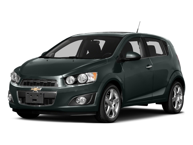 Nightfall Gray Metallic 2016 Chevrolet Sonic Pictures Sonic Hatchback 5D LT I4 photos front view