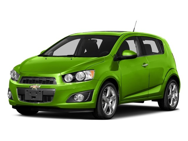 Dragon Green Metallic 2016 Chevrolet Sonic Pictures Sonic Hatchback 5D LT I4 photos front view