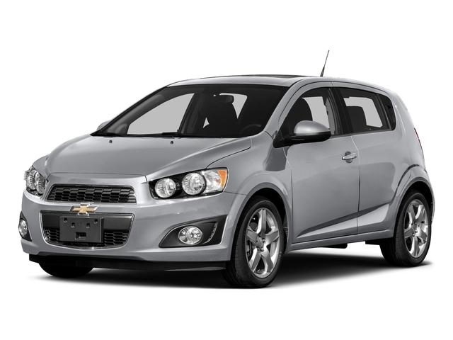 Silver Ice Metallic 2016 Chevrolet Sonic Pictures Sonic Hatchback 5D LT I4 photos front view