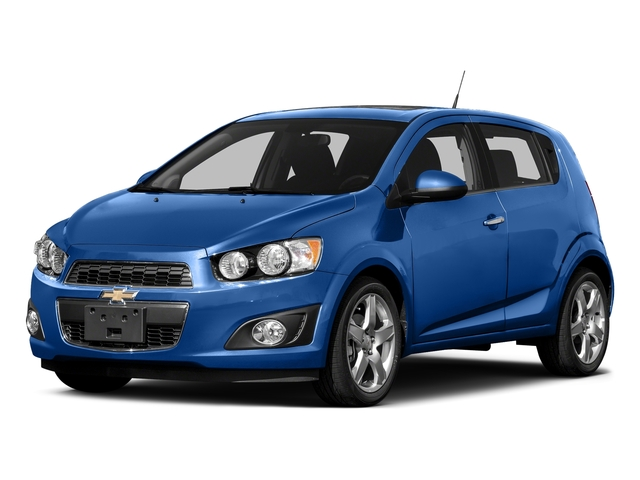 Kinetic Blue Metallic 2016 Chevrolet Sonic Pictures Sonic Hatchback 5D LT I4 photos front view