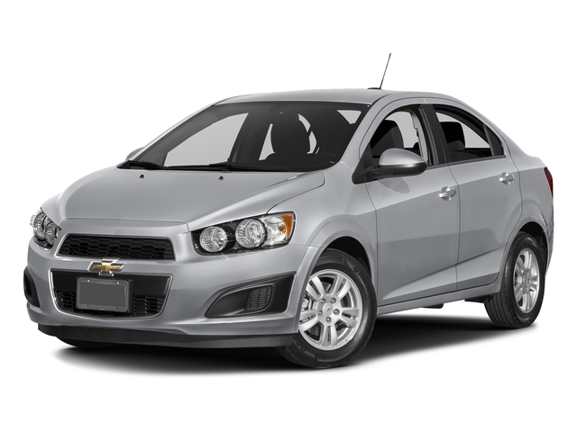 Silver Ice Metallic 2016 Chevrolet Sonic Pictures Sonic Sedan 4D LS I4 photos front view