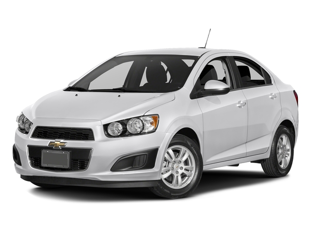 Summit White 2016 Chevrolet Sonic Pictures Sonic Sedan 4D LS I4 photos front view