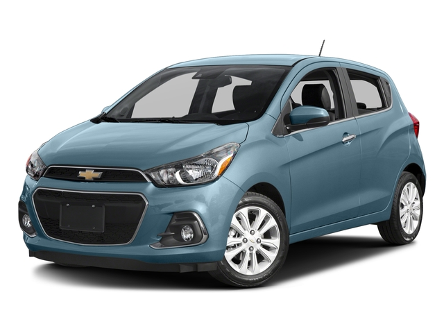 Electric Blue 2016 Chevrolet Spark Pictures Spark Hatchback 5D 2LT I4 photos front view