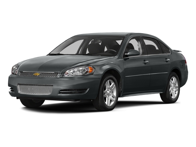 Ashen Gray Metallic 2016 Chevrolet Impala Limited Pictures Impala Limited Sedan 4D LT V6 photos front view