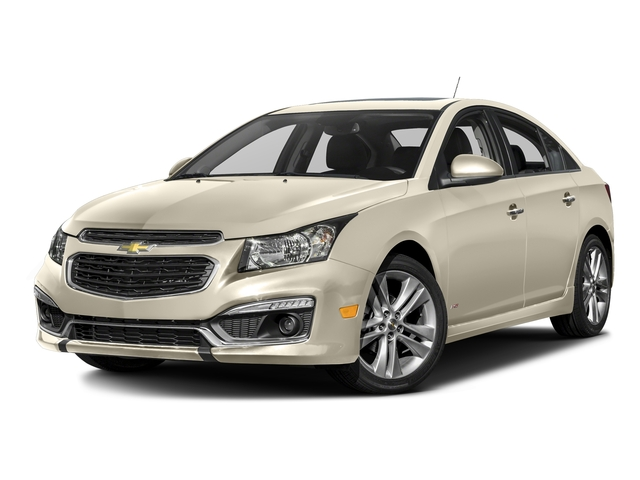 Champagne Silver Metallic 2016 Chevrolet Cruze Limited Pictures Cruze Limited Sedan 4D LTZ I4 Turbo photos front view