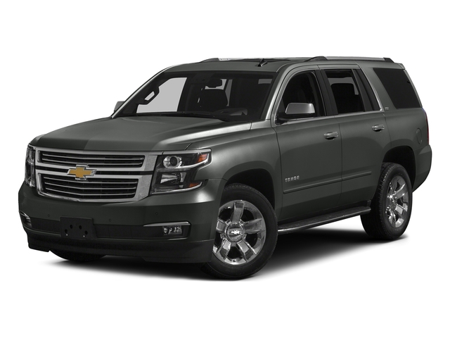 Slate Grey Metallic 2016 Chevrolet Tahoe Pictures Tahoe Utility 4D LTZ 4WD V8 photos front view