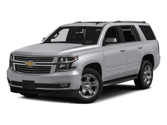Silver Ice Metallic 2016 Chevrolet Tahoe Pictures Tahoe Utility 4D LTZ 4WD V8 photos front view