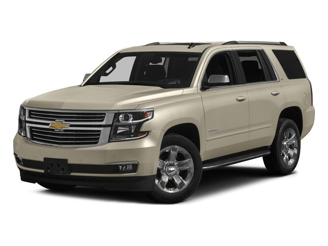 Champagne Silver Metallic 2016 Chevrolet Tahoe Pictures Tahoe Utility 4D LTZ 4WD V8 photos front view