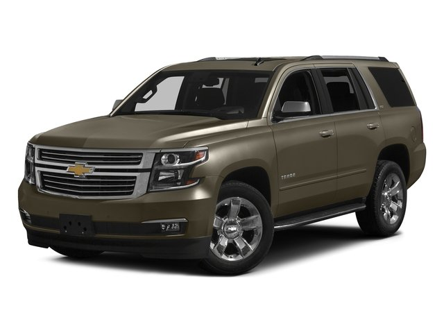 Brownstone Metallic 2016 Chevrolet Tahoe Pictures Tahoe Utility 4D LTZ 4WD V8 photos front view