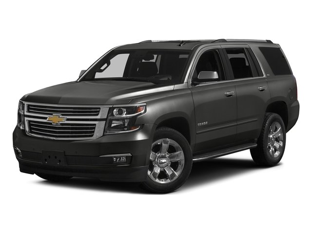 Tungsten Metallic 2016 Chevrolet Tahoe Pictures Tahoe Utility 4D LTZ 4WD V8 photos front view