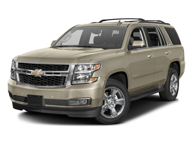 Champagne Silver Metallic 2016 Chevrolet Tahoe Pictures Tahoe Utility 4D Fleet 2WD V8 photos front view