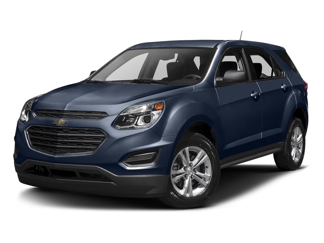 Blue Velvet Metallic 2016 Chevrolet Equinox Pictures Equinox Utility 4D LS AWD photos front view
