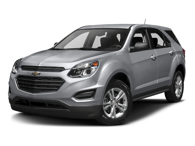 Silver Ice Metallic 2016 Chevrolet Equinox Pictures Equinox Utility 4D LS AWD photos front view