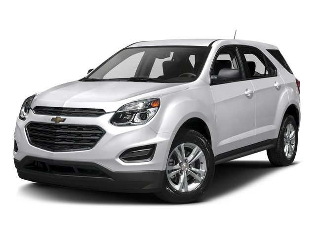 Summit White 2016 Chevrolet Equinox Pictures Equinox Utility 4D LS AWD photos front view