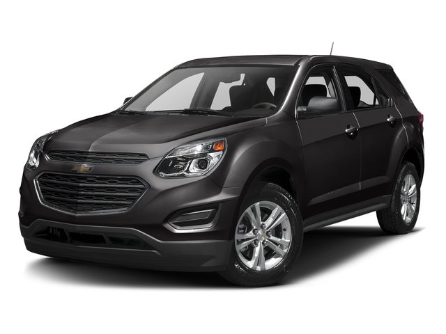 Black 2016 Chevrolet Equinox Pictures Equinox Utility 4D LS AWD photos front view