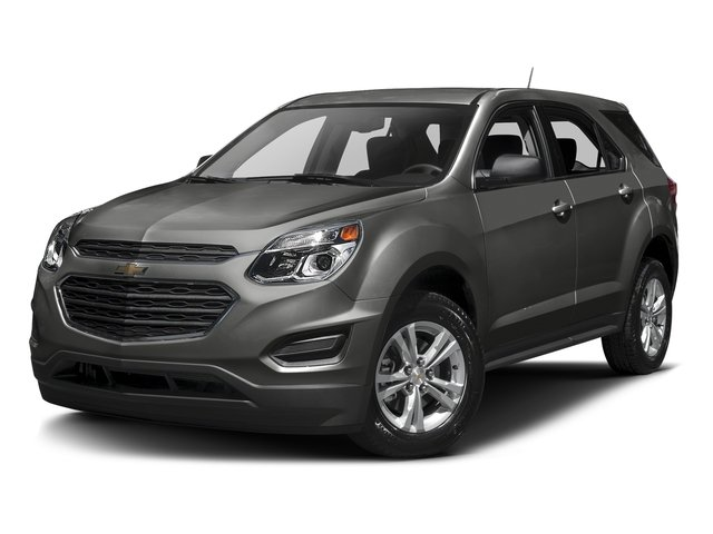 Tungsten Metallic 2016 Chevrolet Equinox Pictures Equinox Utility 4D LS AWD photos front view