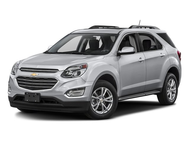 Silver Ice Metallic 2016 Chevrolet Equinox Pictures Equinox Utility 4D LT 2WD photos front view