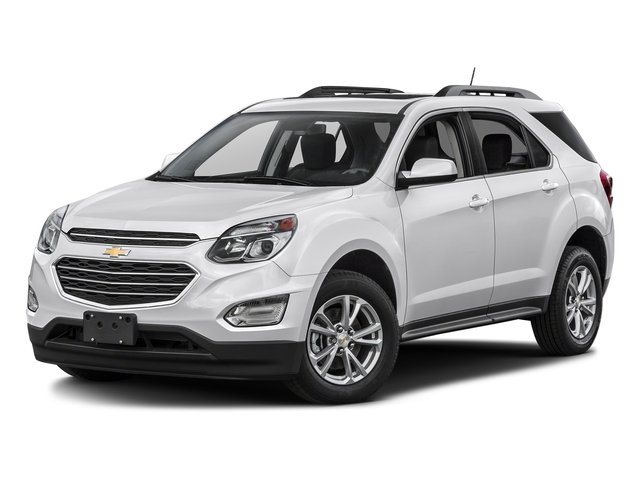 Summit White 2016 Chevrolet Equinox Pictures Equinox Utility 4D LT 2WD photos front view