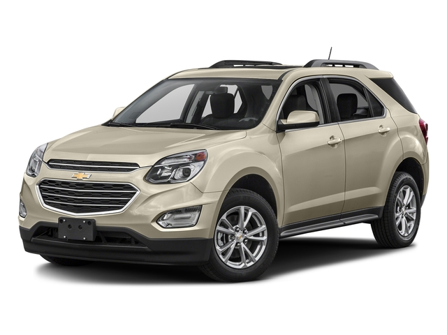 Champagne Silver Metallic 2016 Chevrolet Equinox Pictures Equinox Utility 4D LT 2WD photos front view