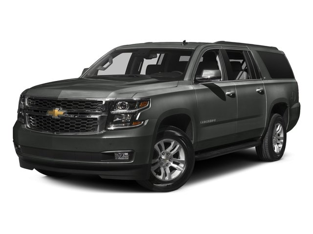 Slate Grey Metallic 2016 Chevrolet Suburban Pictures Suburban Utility 4D LT 4WD V8 photos front view