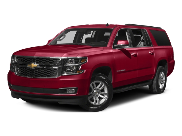 Siren Red Tintcoat 2016 Chevrolet Suburban Pictures Suburban Utility 4D Fleet 2WD V8 photos front view