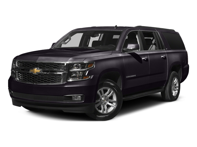 Sable Metallic 2016 Chevrolet Suburban Pictures Suburban Utility 4D LT 4WD V8 photos front view