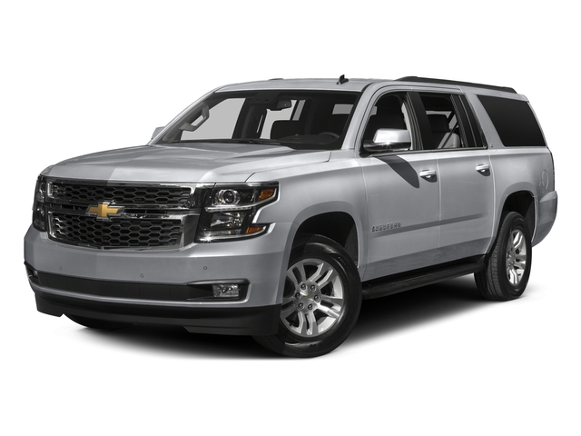 Silver Ice Metallic 2016 Chevrolet Suburban Pictures Suburban Utility 4D LS 2WD V8 photos front view